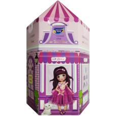 Подарочный набор для девочек Солнце и Луна Лея 3+: средство для купания 200 мл + шампунь для волос 200 мл + жидкое мыло 50 мл
