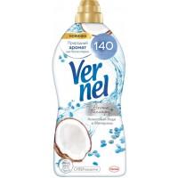 Кондиционер для белья Vernel (Вернель) Ароматерапия+ Кокосовая вода и Минералы, 1,74 л