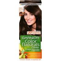 Краска для волос Garnier (Гарньер) Color Naturals Creme, тон 3.3 - Благородный Темно-каштановый