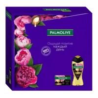 Подарочный набор Palmolive (Палмолив) Натурэль «Роскошь масел и масло Макадамии»: гель для душа 250 мл + туалетное мыло 90 г