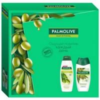 Подарочный набор Palmolive (Палмолив) Натурэль «Интенсивное увлажнение с маслом оливы»: гель-крем для душа 250 мл + шампунь для волос 200 мл