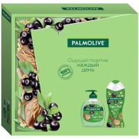 Подарочный набор Palmolive (Палмолив) Super Food ягоды Асаи: гель-крем для душа 250 мл + жидкое мыло 300 мл