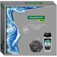 Подарочный набор для мужчин Palmolive (Палмолив) Men Арктический ветер: гель для душа 3в1 250 мл + мочалка