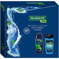 Подарочный набор для мужчин Palmolive (Палмолив) Men Спорт и Мята: гель для душа 3в1 250 мл + шампунь для нормальных волос 200 мл