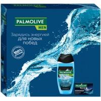 Подарочный набор для мужчин Palmolive (Палмолив) Men Спорт и Северный океан: гель для душа 3в1 250 мл + туалетное мыло 90 г