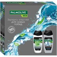 Подарочный набор для мужчин Palmolive (Палмолив) Men Арктический ветер и Очищение и уход: гель для душа 4 в 1 250 мл + гель для душа 3 в 1 250 мл