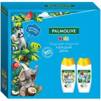 Детский подарочный набор Palmolive (Палмолив) Kids: гель для душа и купания 250 мл (2 шт) + наклейки