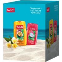 Подарочный набор Tahiti: гель для душа Питахайя 250 мл + гель для душа Маракуйя 250 мл