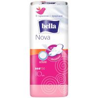 Гигиенические прокладки Bella (Белла) Nova, 3+ капли, 10 шт