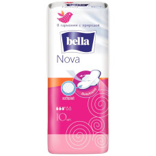 Гигиенические прокладки Bella Nova (Белла Нова) 3+ капли, 10 шт
