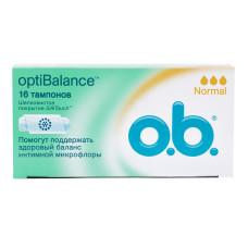 Тампоны O.b. (Оби) Normal, 3 капли, 16 шт