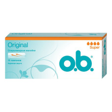 Тампоны O.b. (Оби) Super, 4 капли 16 шт