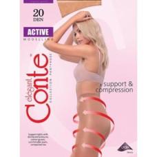 Колготки Conte Active (Конте Актив) 20 Den, Nero (черный), 2 размер