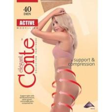 Колготки Conte Active (Конте Актив), Nero (черный), 2 размер, 40 Den