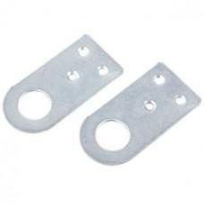 Проушина цинкованная сталь Средняя набор 2 шт, 7х3,5х0,2 см