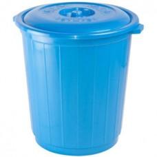 Бак пластмассовый с крышкой, 70 л, д51 см, h52,5 см