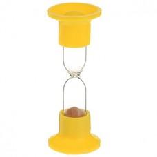 Часы песочные настольные на 1 минуту, цвета микс