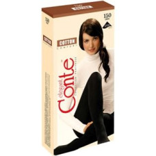 Колготки Conte Cotton (Конте Коттон), Chocolate (шоколад), 150 den, 2 размер