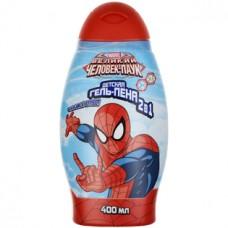 Детская гель-пена 2 в 1 Spider-Man (Спайдер-мен) Double effect, 400 мл
