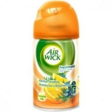 Освежитель воздуха автомат (сменный блок) Airwick (Аирвик) Антитабак Апельсин и бергамот, 250 мл