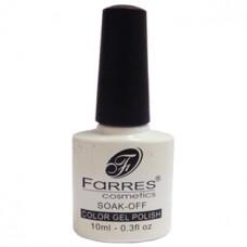 Гель-лак для ногтей Farres (Фаррес) Белый NP001-047