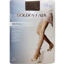 Колготки Golden Lady Repose (Голден Леди) Nero (черный) 40 den, 3 размер