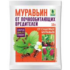 Средство от почвообитающих вредителей Муравьин Грин Бэлт, 10 г