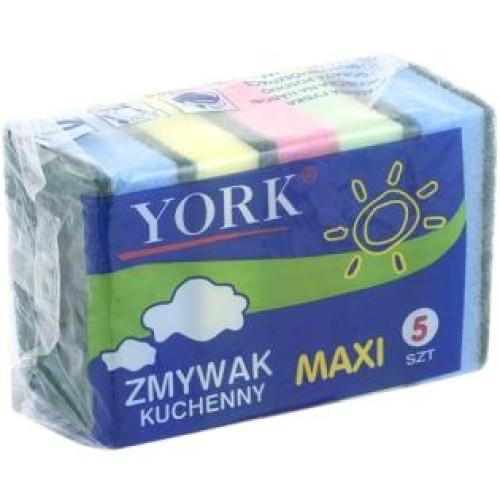 Губки для посуды York (Йорк) макси, 5 шт