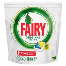 Капсулы для посудомоечных машин Fairy Original All in One, 84 шт