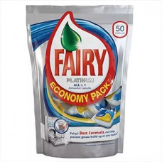 Капсулы для посудомоечных машин Fairy Platinum (Фейри Платинум) All in One, 5 шт