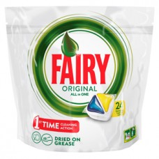 Капсулы для посудомоечных машин Fairy Original All in One, 24 шт