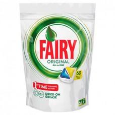Капсулы для посудомоечных машин Fairy Original All in One, 6 шт