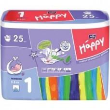Подгузники HAPPY (Хэппи) Newborn 1 (2-5 кг) 25 шт