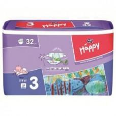 Подгузники HAPPY (Хэппи) Midi 3 (5-9 кг) 32 шт