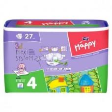 Подгузники HAPPY (Хэппи) Maxi 4 (8-18 кг) 27 шт