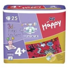 Подгузники HAPPY (Хэппи) Maxi Plus 4+ (9-20 кг) 25 шт