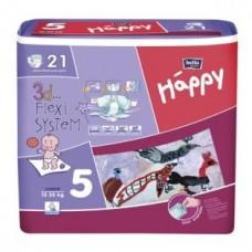 Подгузники HAPPY (Хэппи) Junior 5 (12-25 кг) 21 шт