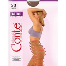 Колготки Conte Active (Конте Актив), Bronz (загар), 20 den, 4 размер