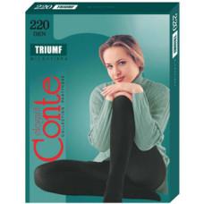 Колготки Conte Triumf (Конте Триумф), Mocca (кофе), 220 den, 2 размер