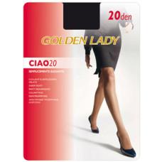 Колготки Golden Lady Ciao (Голден Леди) Fumo (серый) 20 den, 3 размер