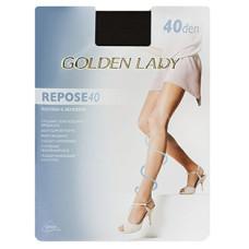 Колготки Golden Lady Repose (Голден Леди) Daino (цвет загара) 40 den, 4 размер