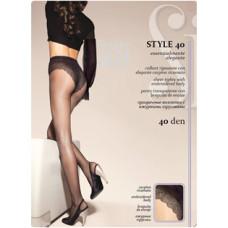 Колготки SiSi Style (Сиси Стиль), Daino (цвет загара), 40 den, 2 размер