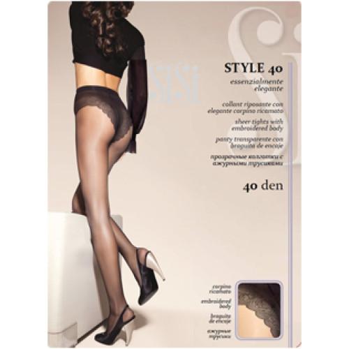 Колготки SiSi Style (Сиси Стиль), Daino (цвет загара), 40 den, 4 размер