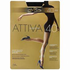 Колготки OMSA Attiva (Омса Аттива), Camoscio (тёмный загар), 40 den, 2 размер