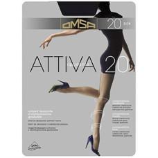 Колготки OMSA Attiva (Омса Аттива), Caramello (телесный), 20 den, 3 размер