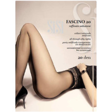 Колготки SiSi Fascino (Сиси Фашино), Nero (черный), 20 den, 2 размер
