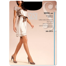Колготки SiSi Miss (Сиси Мисс), Daino (цвет загара), 20 den, 3 размер