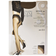 Колготки SiSi Style (Сиси Стиль), Daino (цвет загара), 20 den, 2 размер