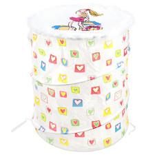 Контейнер для белья и игрушек складной Модница белый, д38 см, h42 см