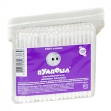 Косметические ватные палочки Пумпоша, 100 шт/пакет